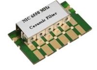 6550 MHz Ceramic Bandpass filter Image