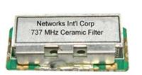 737 MHz LTE Band 12 (Downlink) Ceramic Filter Image