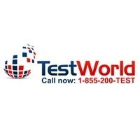 TestWorld Inc. Logo