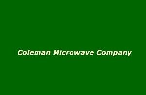 Coleman Microwave Company Logo