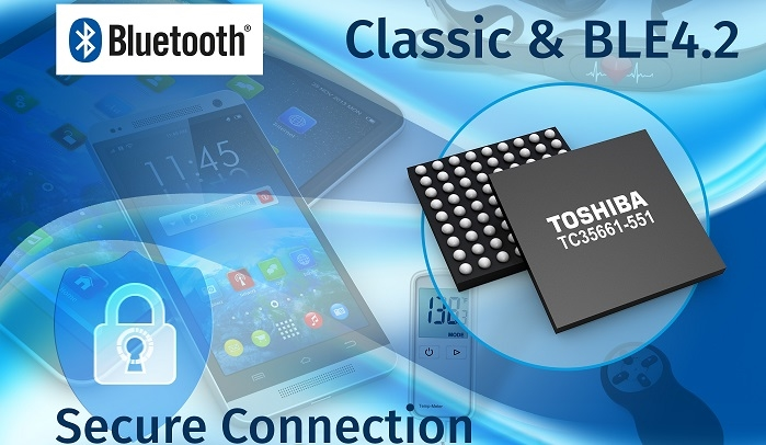 Toshiba's Adds More Security to its Popular Bluetooth Low Energy