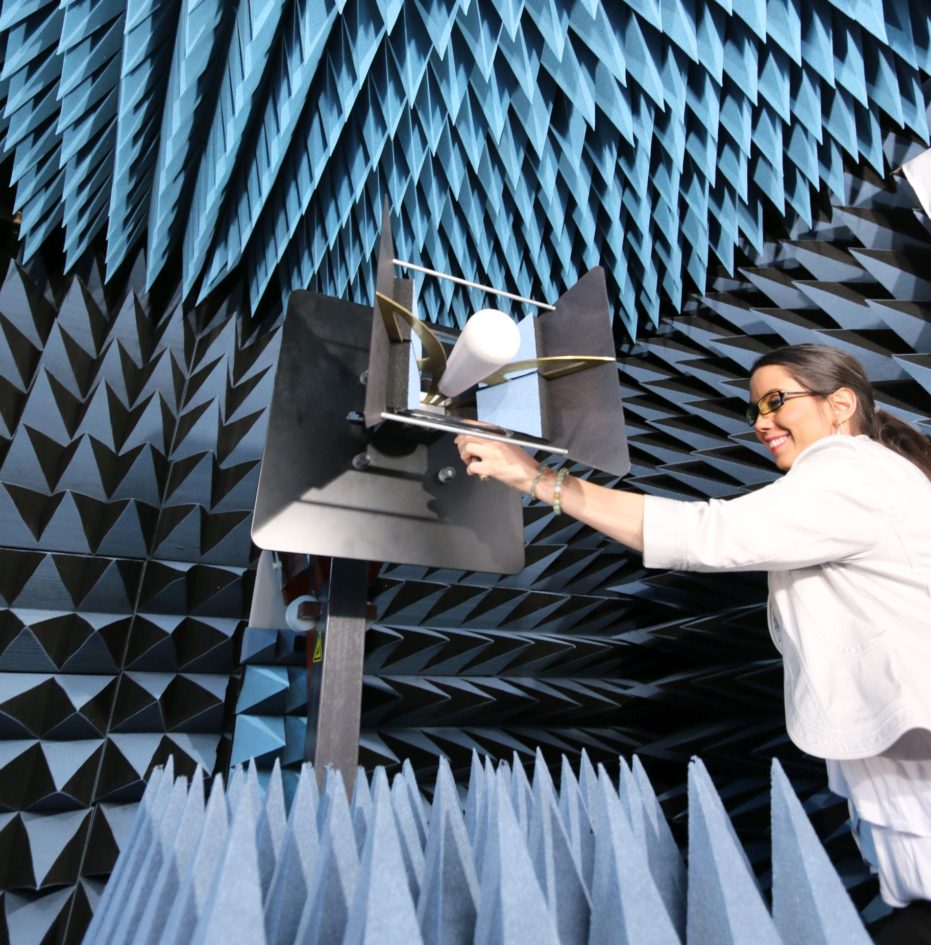 Anechoic Chamber At Antenna Test Lab