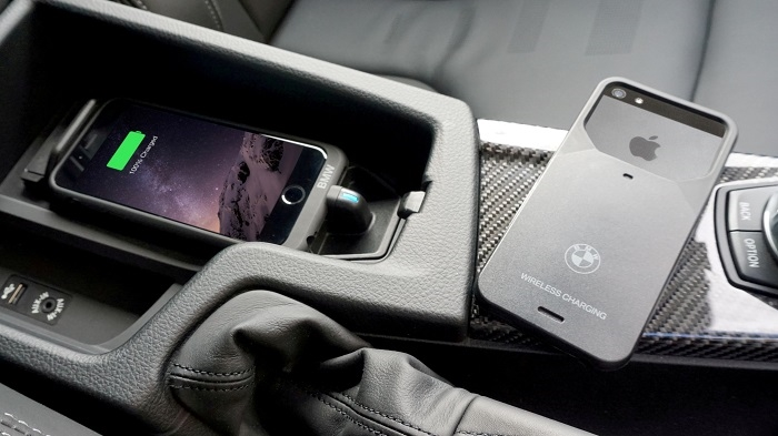 New Bmw In Car Wireless Charging Solution Powered By Aircharge