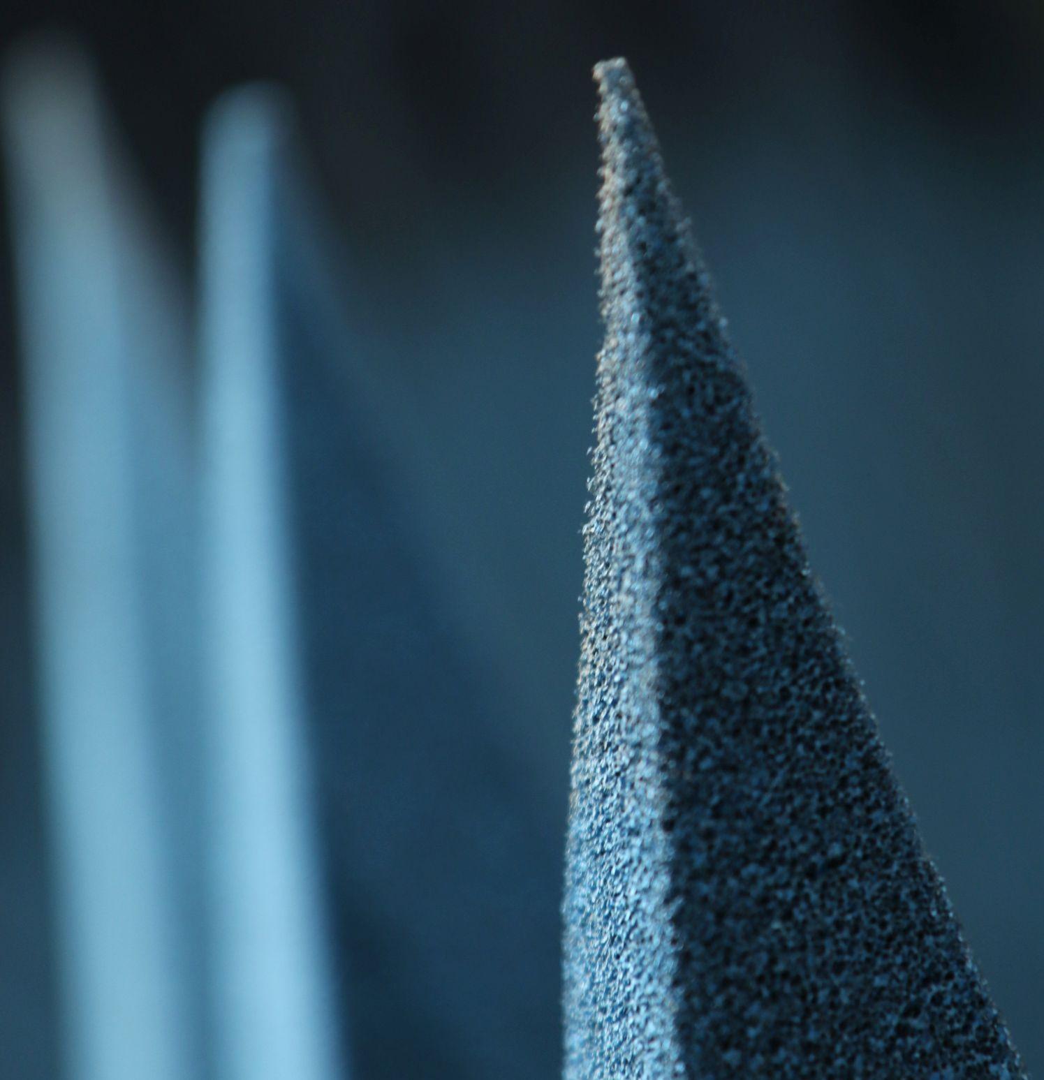 Pyramidal Absorber Close Up