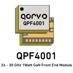 Industry's First 28 GHz GaN Front End Module for Fixed