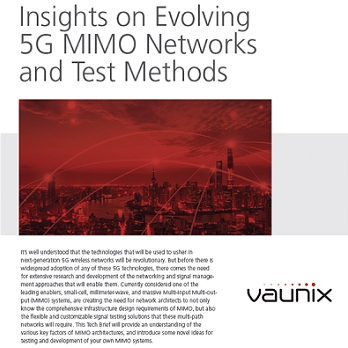 White Paper Discusses How Modular Test Equipment Can be Used