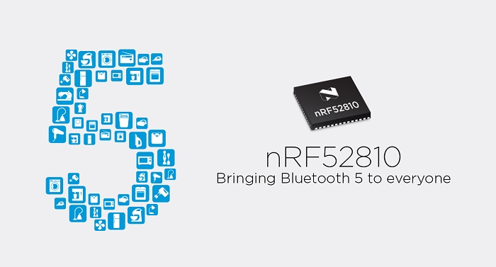 Bluetooth 5 0 Certified SoC from Nordic Semiconductor is Now
