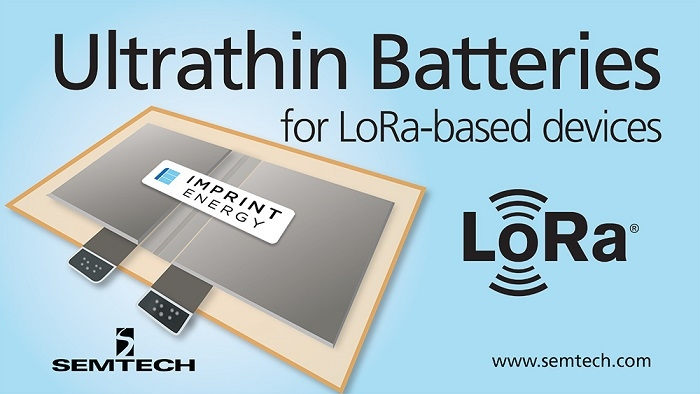 Ultrathin Batteries for LoRa-based devices to Enhance IoT Sensors