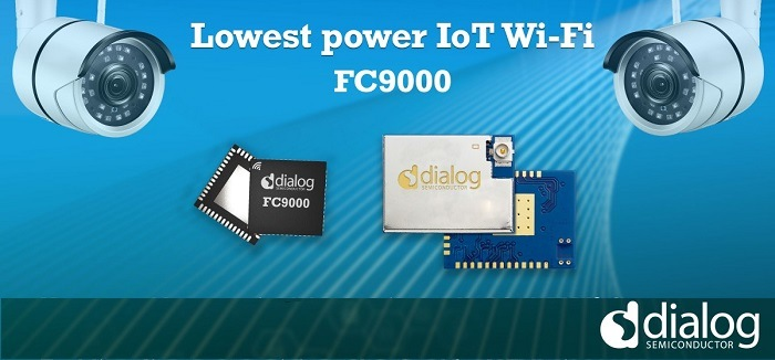 Dialog Releases Ultra-Low Power Wi-Fi SoC to Accelerate IoT Adoption