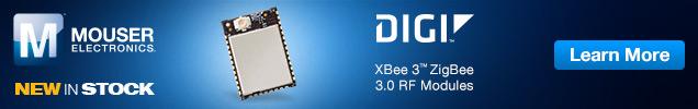 Digi International XBee 3™ ZigBee 3.0 RF Modules