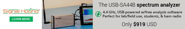 USB-SA44B — 4.4 GHz Spectrum Analyzer
