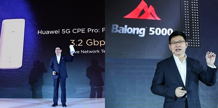 Huawei Unveils 5G Multi-mode Chipset Along With a Compatible