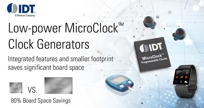 Ultra-Low-Power Miniature Programmable Clock Generator for Wearable