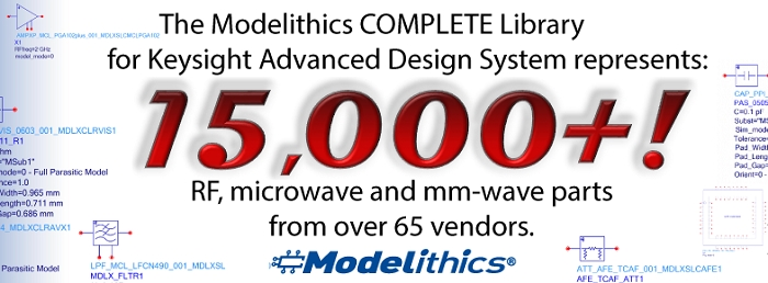 Modelithics Updates its Component Model Library for Keysight