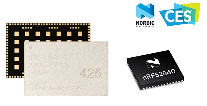 Nordic to Demonstrate New nRF9160 SiP and nRF52 Series