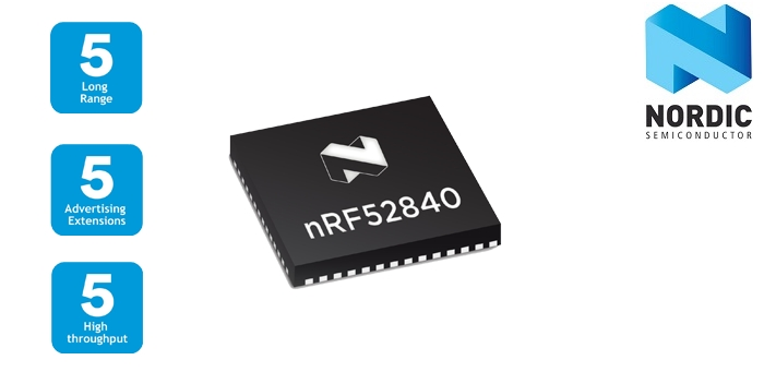 Nordic Introduces Bluetooth 5 0 Certified SoC for Multiprotocol