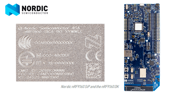 Nordic Starts Volume Production of its LTE-M/NB-IoT and GPS IoT Module