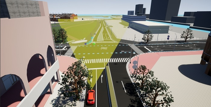World's First Real-time mmWave Radar Simulator for Autonomous Driving