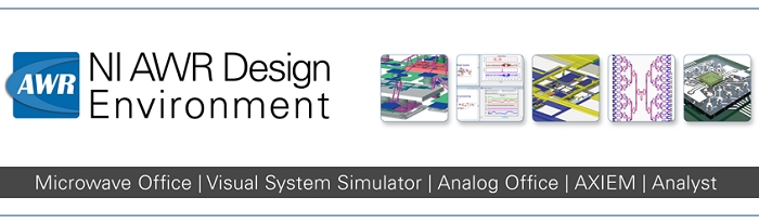 NI AWR Design Environment Version 13 Now Available