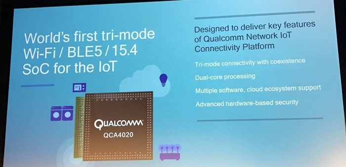 New Tri-mode SoC for Bluetooth Low Energy 5, Dual Band Wi-Fi and