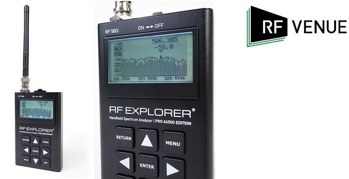 RF Venue Introduces Explorer Pro Audio Edition Portable