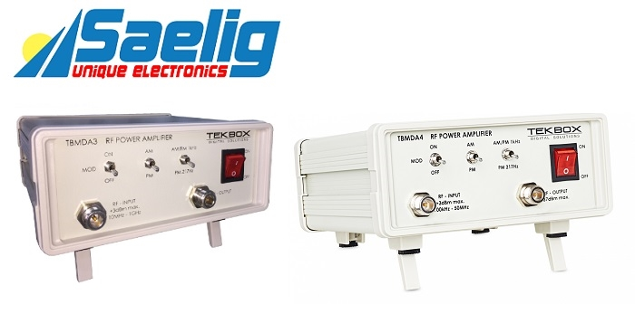 Saelig Releases Modulated Wideband Power Amplifiers for EMC