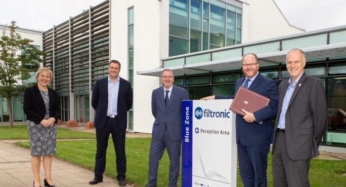 UK's New Science Minister George Freeman Visits Filtronic