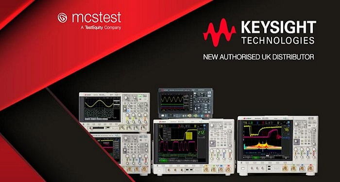 MCS Test is Now an Authorized Distributor for Keysight Technologies in the UK