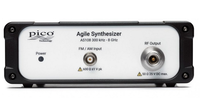 Pico Technology Introduces USB Controlled Agile Frequency Synthesizer from 300 kHz to 8 GHz